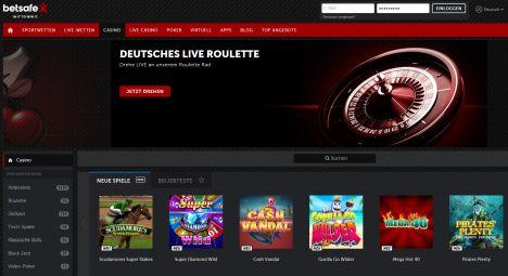 Betsafe Casino Startseite