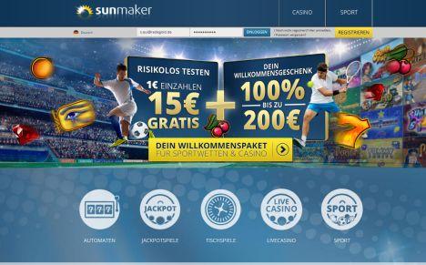 Sunmaker Casino Startseite